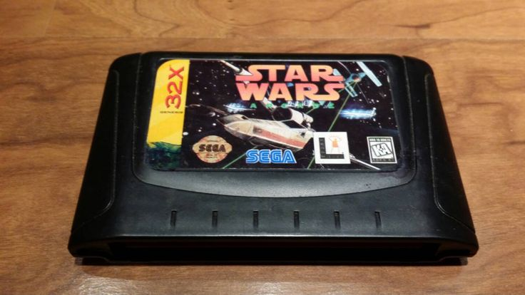 Star wars arcade Sega 32x, star wars Sega 32x video game, Sega 32x, Sega Genesis,  32x video game - pinned by pin4etsy.com