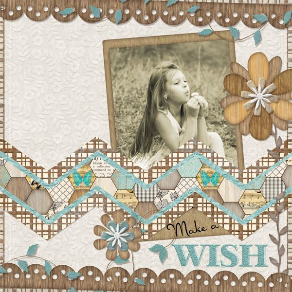 #papercraft #scrapbook #layout.  Value Pack: Woodja Couldja, designed by Cindy Rohrbough, Scrap Girls, LLC digital scrapbooking product designer