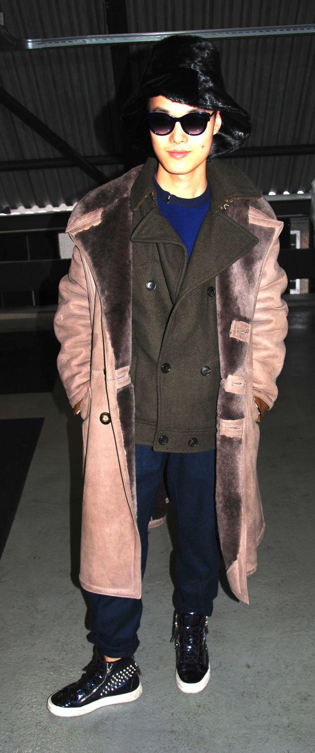 Peter Xu - Copenhagen fashion week street style AW14 by Hybridablog