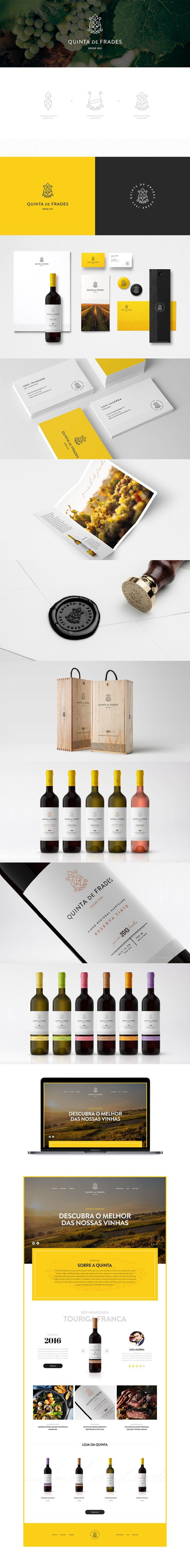 Branding Quinta de Frades - Ivory Black, Wine brand, Packaging, Wine, Vineyard