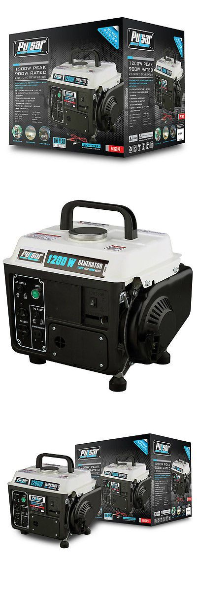 Generators 33082: Portable Gas Generator Camping Rv Power Electric Small Quiet Gasoline Powered -> BUY IT NOW ONLY: $189.99 on eBay!