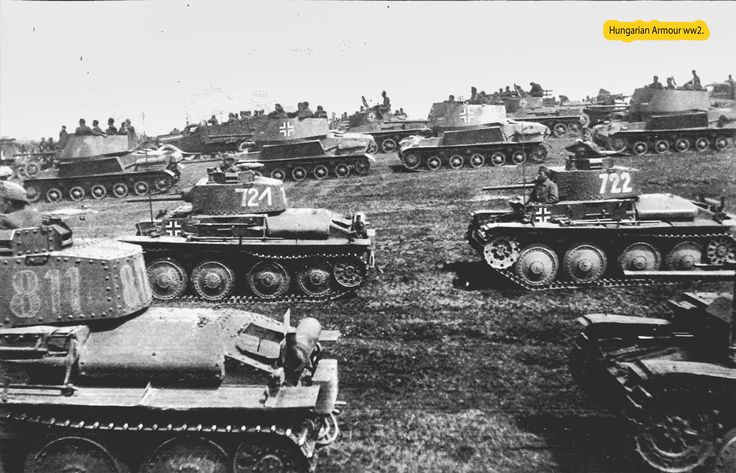 Hungarian armored forces.