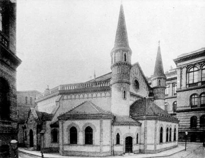 1898. Gólyavár a Trefort kertben.