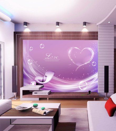 Love in Heart Wall Mural, 7-Feet 4-Inch By 4-Feet 7-Inch - Amazon.com #Onlymurals