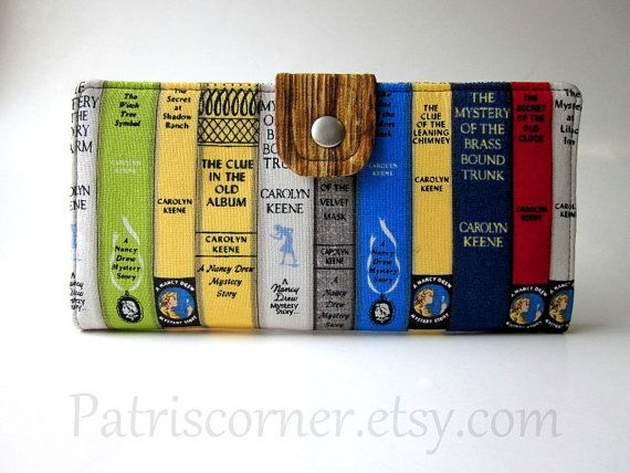 Nancy Drew Mystery Books Clutch