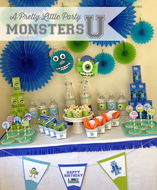 99 best Monsters Inc Party Ideas images on Pinterest Monster