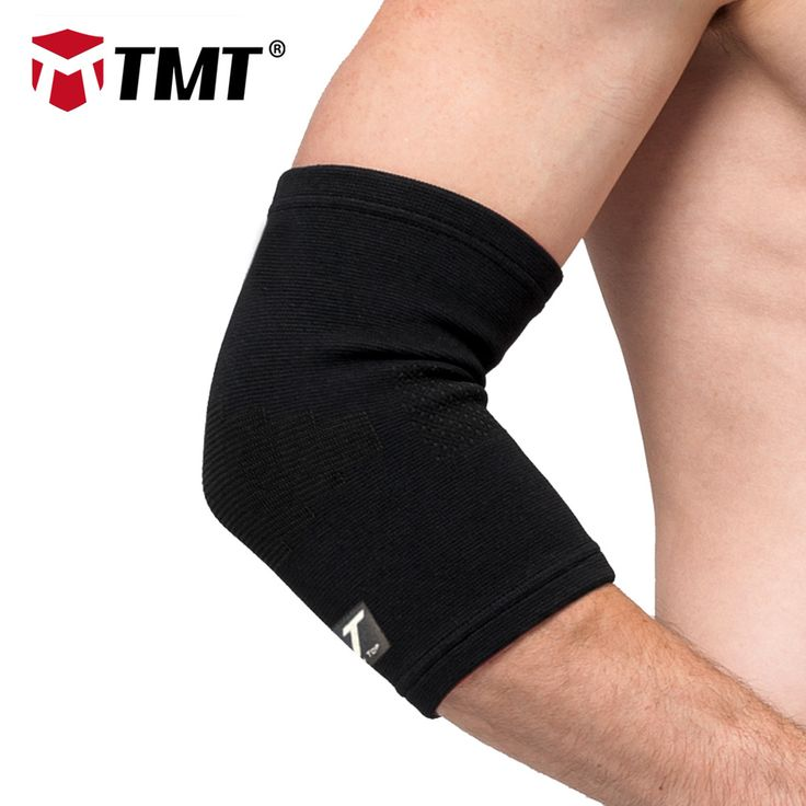 TMT Absorb Sweat Warm Armband Breathable Durable sports Elastic Elbow Guards Support Braces Protection Sports Safety elbow pain