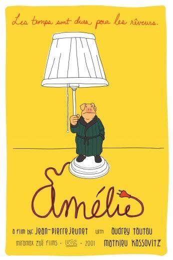 Poster Le Fabuleux Destin d'Amélie Poulain Miramax..