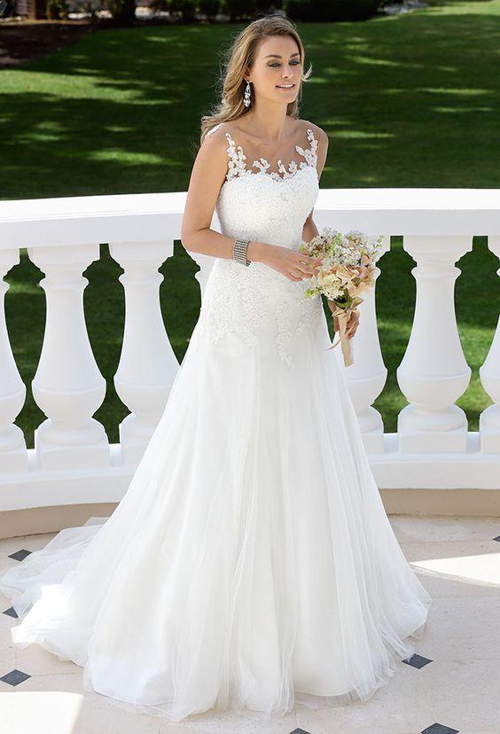 2043 best Wedding Dresses images on Pinterest | Bridal gowns, Bridal ...