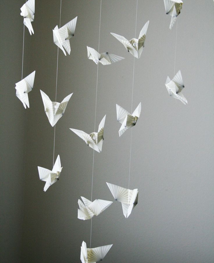 Hanging Butterfly Room Decor