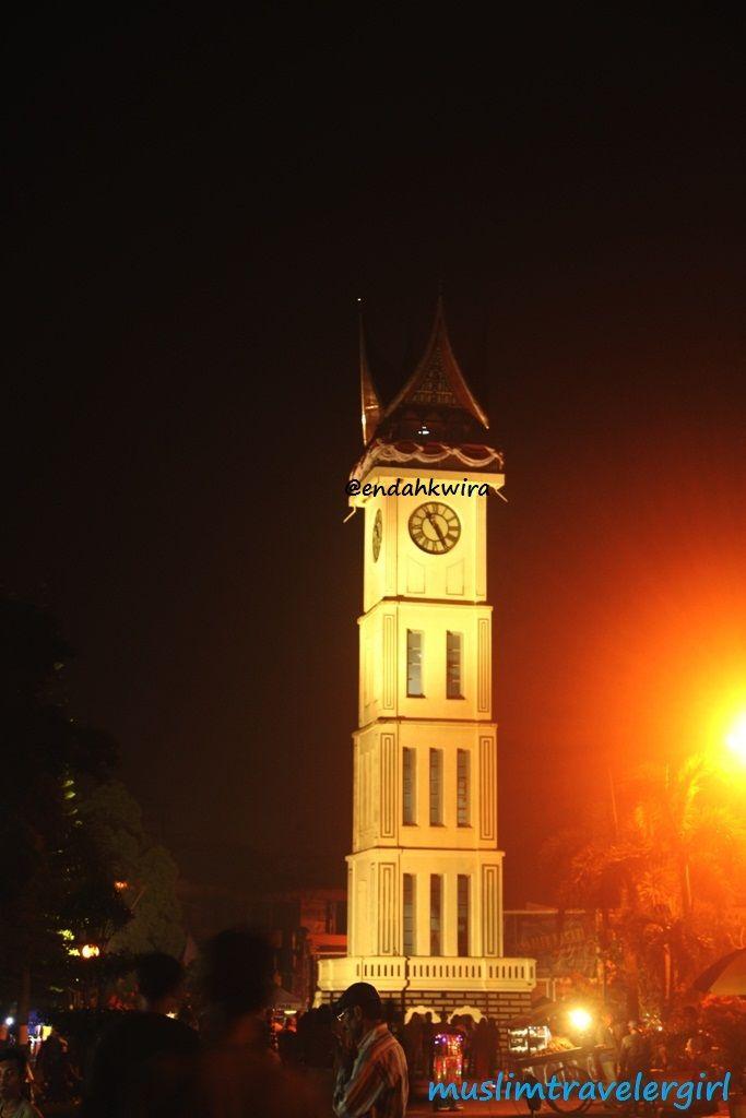 Gadang Clock at Bukittinggi city, West Sumatera