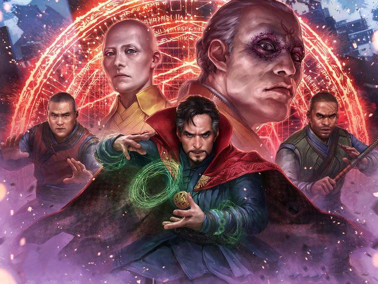 Wallpaper 4k Marvel Future Fight Doctor Strange 4k 4k