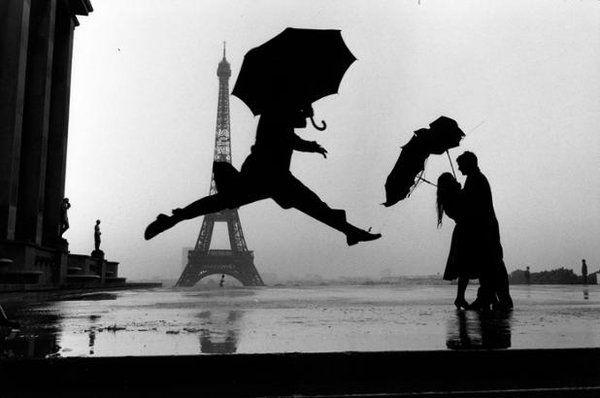 Eiffel tower 100th anniversary. Paris. 1989. Elliott Erwitt.