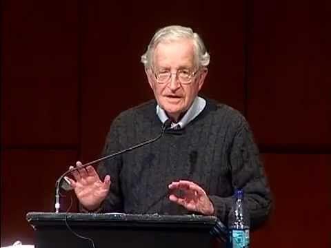 Noam Chomsky - US  Israeli Crimes Against Palestine