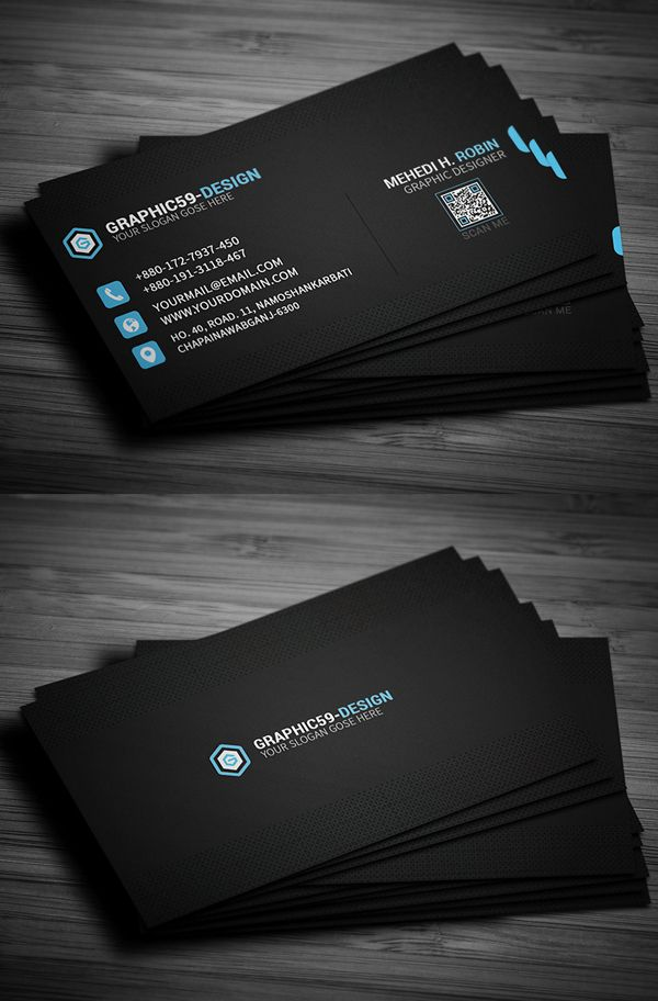 26 New Professional Business Card Psd Templates Design Graphic Design Junction Graphic Design Business Card Professional Business Card Design Professional Business Cards