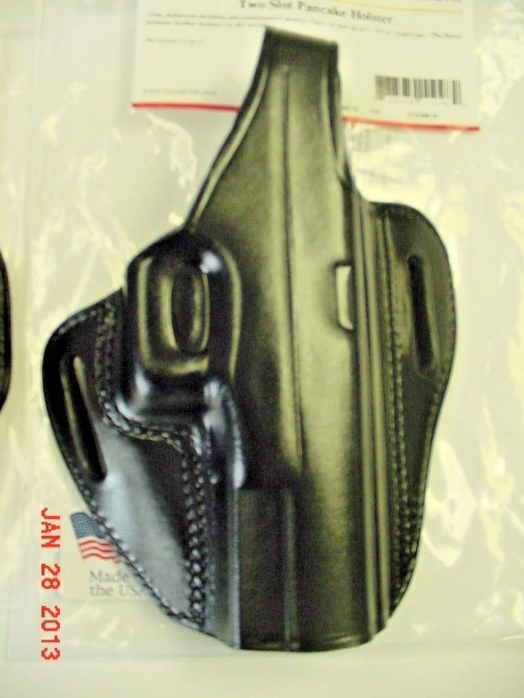 Other Hunting Holsters and Belts 22701: Gould And Goodrich Two Slot Pancake Holster For Glock 26,27,33,39 Left Hand -> BUY IT NOW ONLY: $45.99 on eBay!