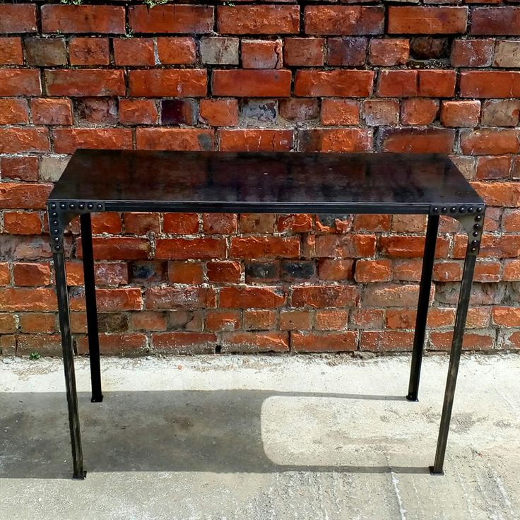 Industrial Workbench Console / Hallway Table