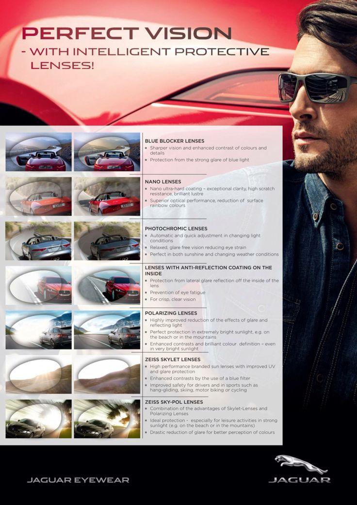 Jaguar komfort dla oczu w każdej sytuacji.