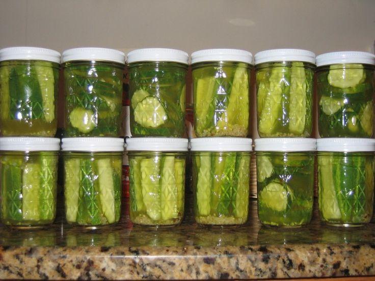 basic refrigerator pickling recipe for cucumbers cauliflower carrots ...