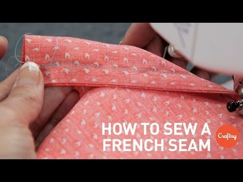 Eliminate raw edges from your garments with a French seam! Angela Wolf demonstrates this versatile finish on silk charmeuse. Download a FREE printable guide ...