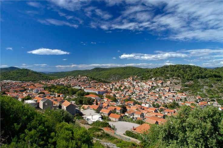 Town of Blato on Korcula Island