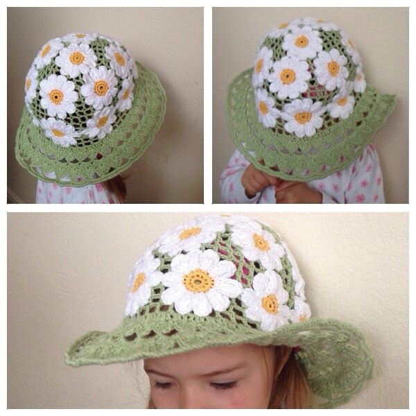 A personal favourite from my Etsy shop https://www.etsy.com/uk/listing/231475167/crochet-summer-hat