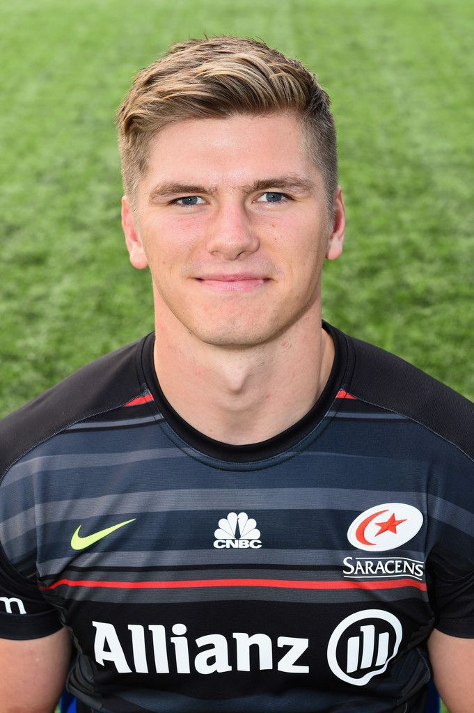 Owen Farrell Photos: Saracens Photo Call