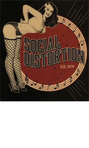 SOCIAL DISTORTION  The greatest Orange County band.