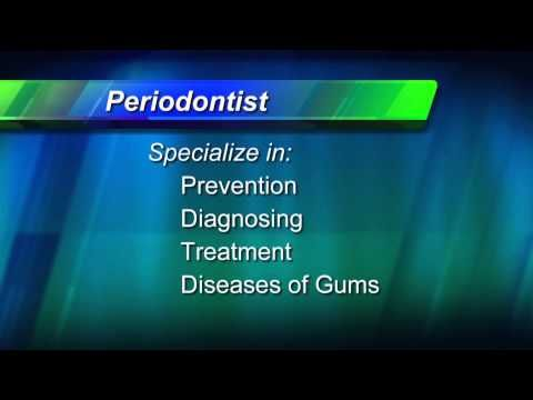 Learn more about Periodontics, the treatment of the tissue (gums) supporting & surrounding the teeth. A video from the American Dental Association.