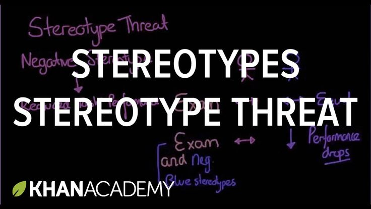 Stereotypes stereotype threat and self fulfilling prophecies                                                                                                                                                     More