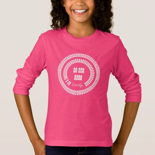 pi Digits 3.14159 Mathematics Love Pi Day 2017 #kids #shirt #pink #piday