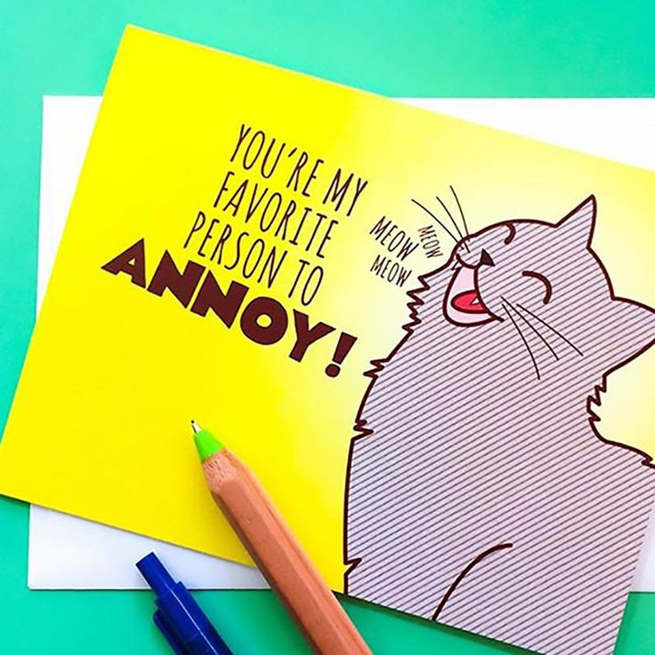 youre my favourite person wooden card by studio thirty