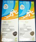 #Ticket  2 Tickets Leichtathletik Rio 2016 15.08 Track & Field Olympia Olympic Games #deutschland