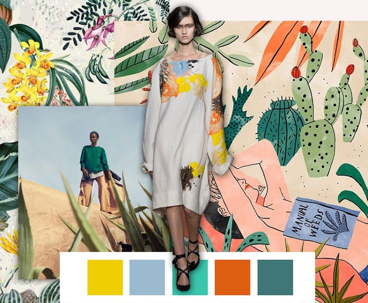 FASHION VIGNETTE: TRENDS // PATTERN PEOPLE - PRINT + COLOR . SS 2017