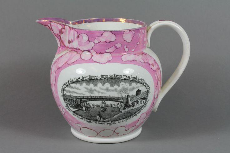 A 19th Century Sunderland lustre jug, est £70-100