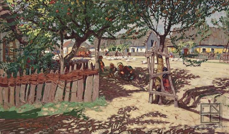 Martin Benka, Slovácka dedina 1905 - 1925
