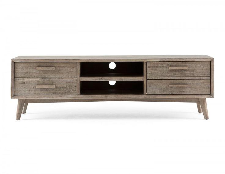 Les 25 meilleures id es concernant meuble t l d angle sur for Meuble qui cache la tv