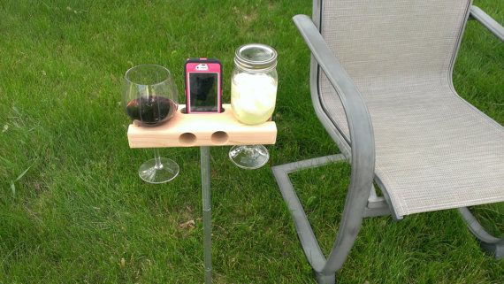 The Wine Dock perfect for a gift. Wine Glass by UniqueSolutionz