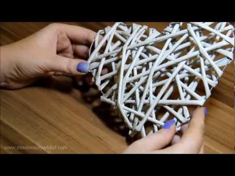 DIY Papel PEDIG - corazón - YouTube