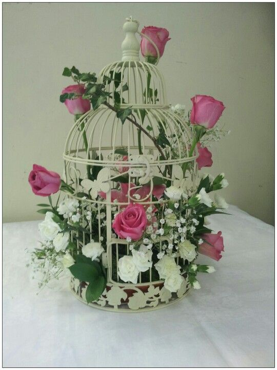 Birdcage floristry