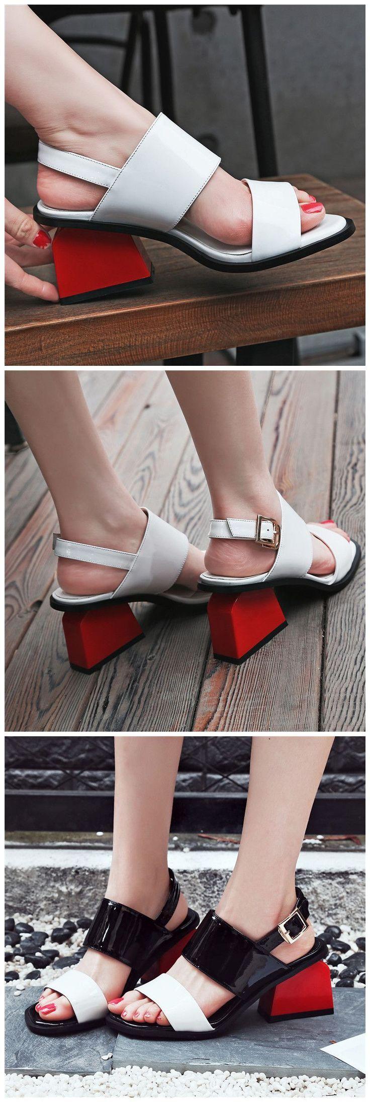 Comfortable summer sandles for women, definitely unique heels – heels high