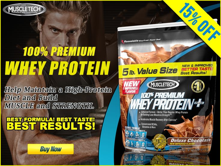 Muscletech Whey Protein: 100% Premium Whey Protein Plus is an ultra-high-quality whey protein powder designed for those looking to help maintain a high-protein diet and build muscle and strength.