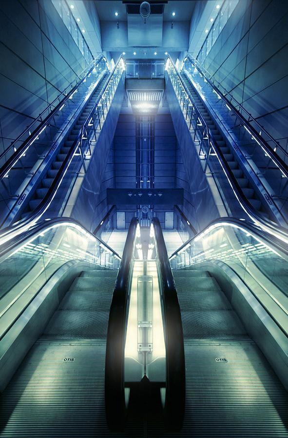 Denmark.  Copenhagen Metro