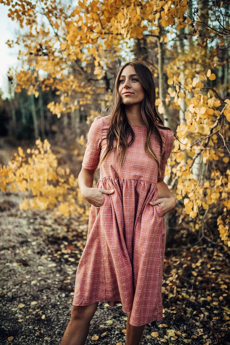 THE CITY BLOCK DRESS IN FADED RED// DRESSES// WOMENS CLOTHING