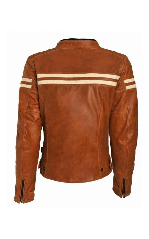 Segura Retro Ladies Leather Motorcycle Jacket - LadyBiker.co.uk