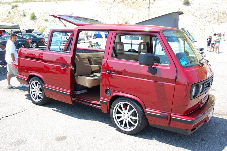Hybrid vanagon Eurovan T4 and Vanagon T3 Pinterest