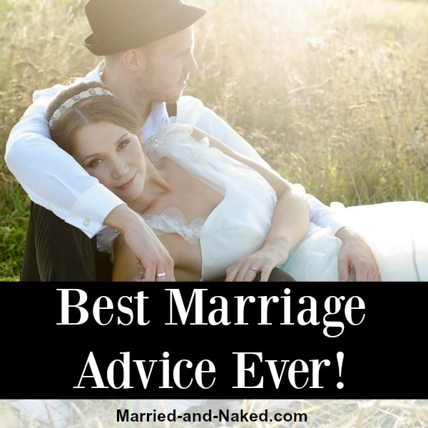 best marriage advice ever - married and naked
