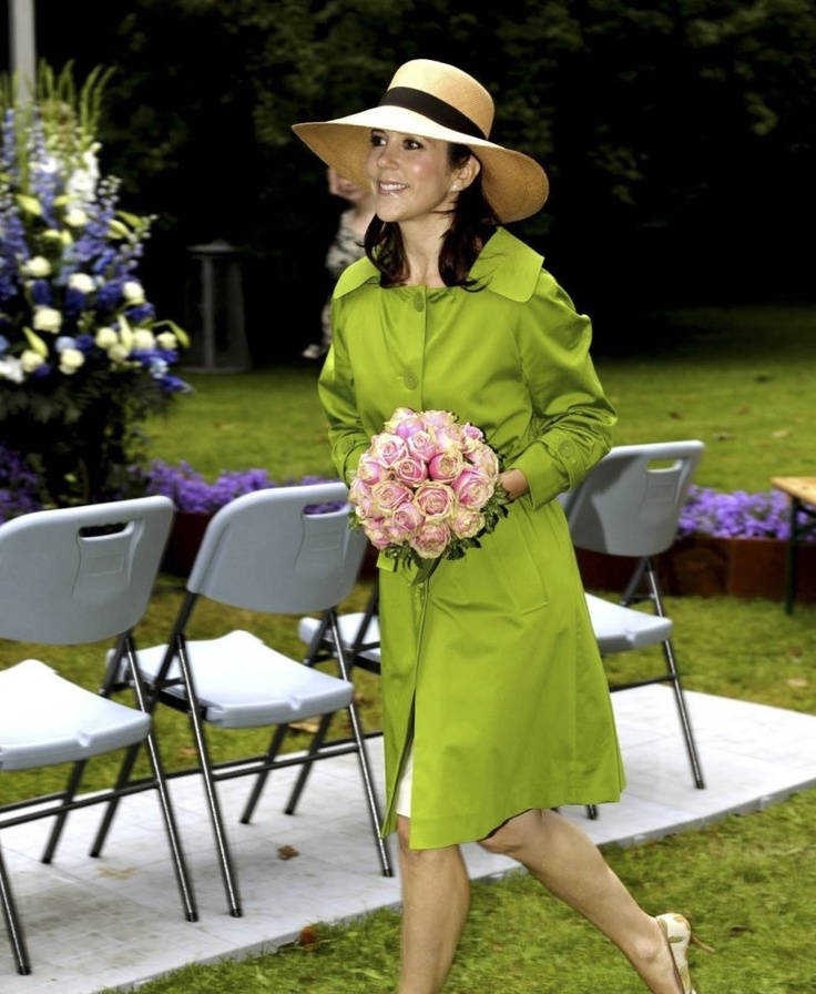 Princess Mary, Opening of Garden Living Fair at Frederiksborg Castle - 19 Aug. 2011