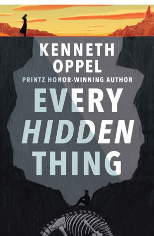 Historical fiction.  Contemporary take on a western. Archeology and dinosaurs.  read the review at Quill and Quire: https://quillandquire.com/review/every-hidden-thing/