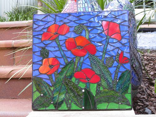WIP Poppies small grouted | finished grouting, needs more cl… | Flickr